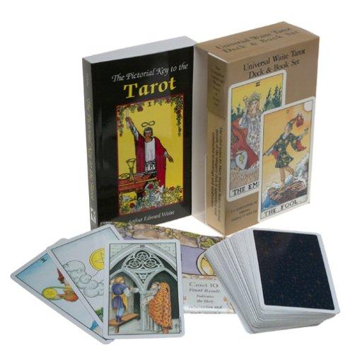 Universal Waite Tarot Deck-Book Set  N/A 9780880794169 Front Cover