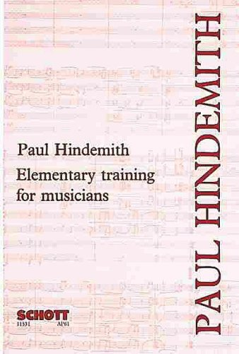 Elementary Training for Musicians  2nd 1974 edition cover