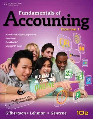 Fundamentals of Accounting Course 1 10th 2014 (Revised) 9781111581169 Front Cover