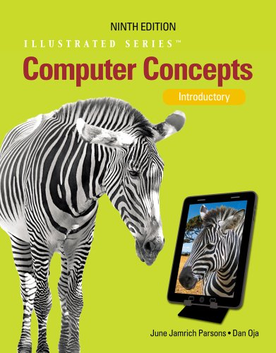 Computer Concepts Illustrated Introductory 9th 2013 edition cover