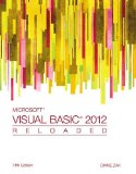 Microsoft Visual Basic 2012: Reloaded  2013 edition cover