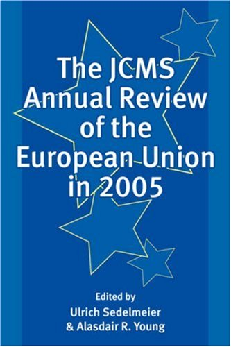 JCMS Annual Review of the European Union In 2005   2006 9781405145169 Front Cover