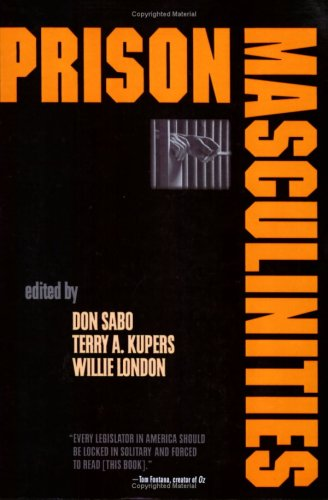 Prison Masculinities   2001 edition cover