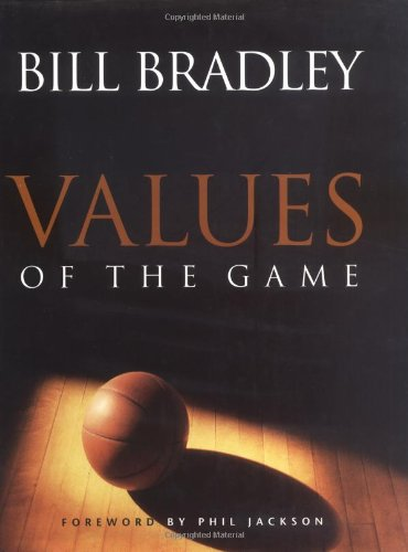 Values of the Game   1998 (Teachers Edition, Instructors Manual, etc.) edition cover