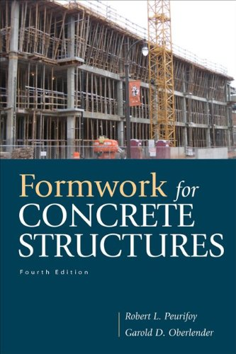 Formwork for Concrete Structures  4th 2011 edition cover