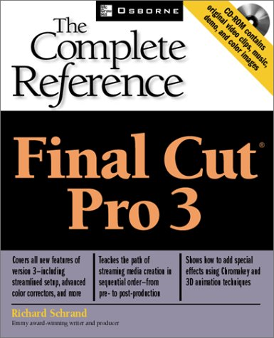 Final Cut Pro 3 The Complete Reference  2002 edition cover