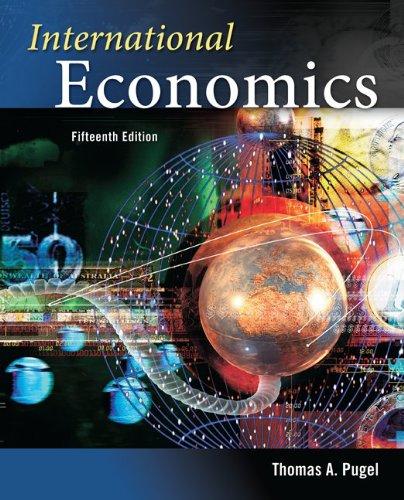 International Economics  15th 2012 edition cover