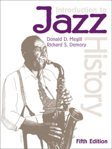 Introduction to Jazz History  5th 2001 edition cover