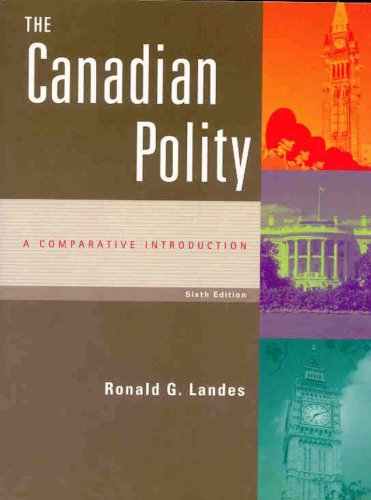 CANADIAN POLITY-TEXT  >CANADIA 6th 2002 edition cover