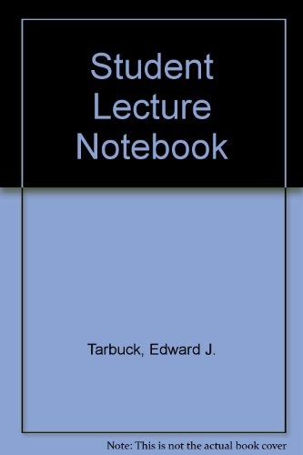 EARTH SCIENCE-STUDENT LECTURE 10th 2003 edition cover