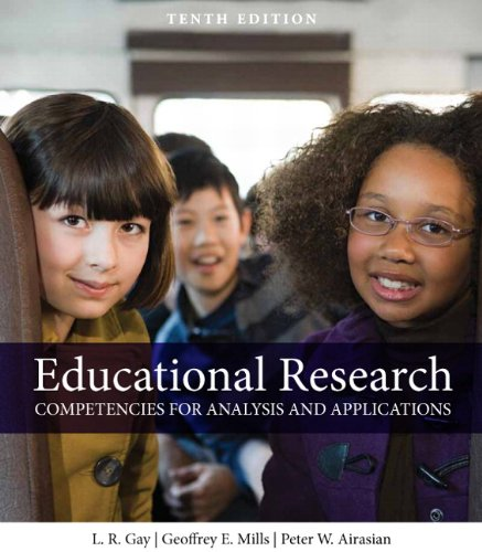 Educational Research Competencies for Analysis and Applications 10th 2012 (Revised) edition cover