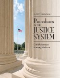 Procedures in the Justice System  11th 2016 edition cover