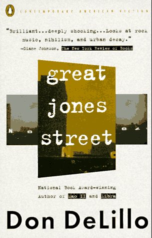 Great Jones Street  N/A edition cover