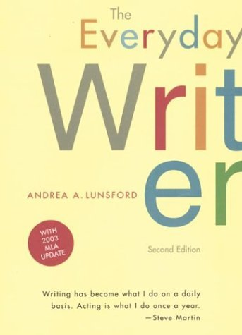 Everyday Writer : With 2003 MLA Update 2nd 2002 edition cover