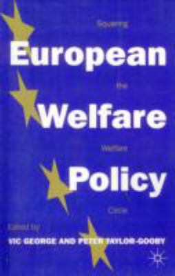 European Welfare Policy  10th 1996 edition cover