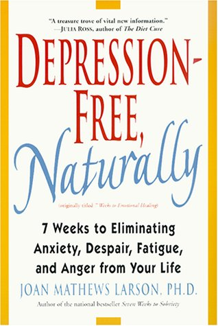 Depression-Free, Naturally 7 Weeks to Eliminating Anxiety, Despair, Fatigue, and Anger from Your Life  1999 edition cover
