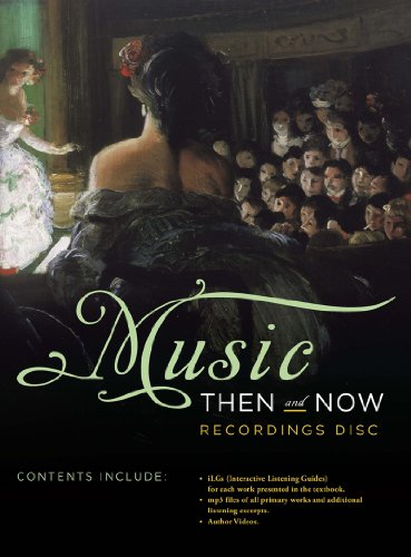 Recordings Disc For Music Then and Now N/A edition cover