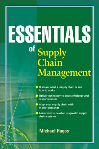 Essentials of Supply Chain Management   2003 edition cover