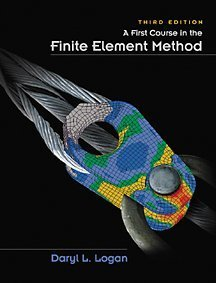 First Course in the Finite Element Method  3rd 2002 9780534385170 Front Cover