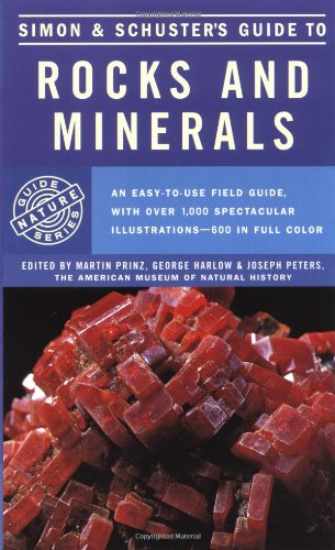 Simon and Schuster's Guide to Rocks and Minerals   1978 edition cover