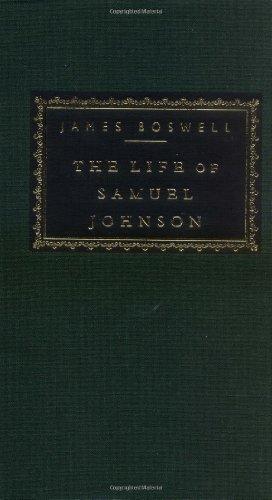 Life of Samuel Johnson   1992 edition cover