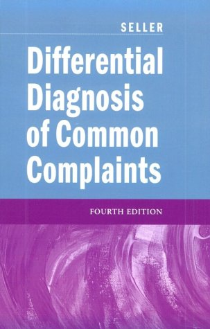 Differential Diagnosis of Common Complaints  4th 2000 (Revised) edition cover