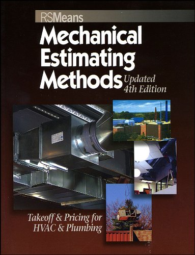 Mechanical Estimating Methods Takeoff and Pricing for HVAC and Plumbing 4th 2007 (Revised) edition cover