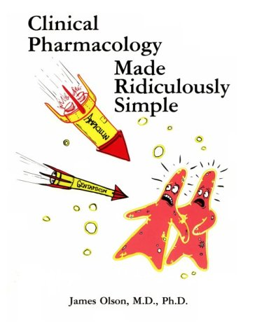Clinical Pharmacology Made Ridiculously Simple  N/A edition cover