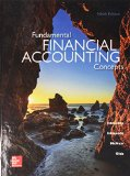 Fundamental Financial Accounting Concepts with Connect  9th 2016 9781259627170 Front Cover