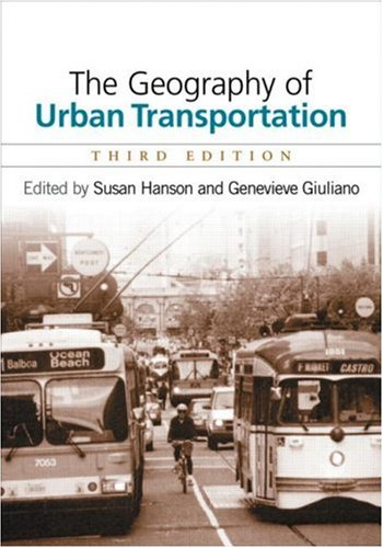 Geography of Urban Transportation  2nd 1995 edition cover