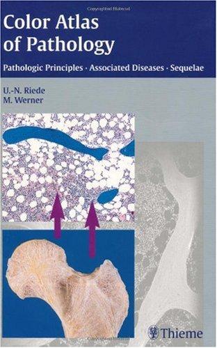 Color Atlas of Pathology Pathologic Principles, Associated Diseases, Sequelae  2004 edition cover