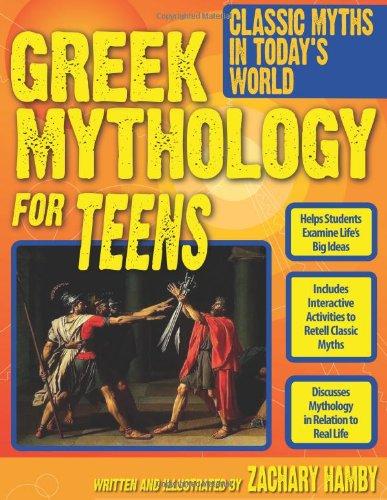 Greek Mythology for Teens   2011 edition cover