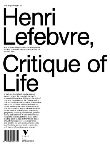 Critique of Everyday Life   2014 edition cover