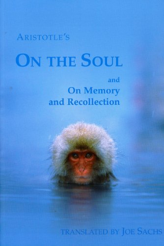 Aristotle's on the Soul and on Memory and Recollection   2001 edition cover