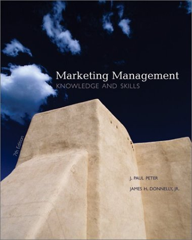 Marketing Management Knowledge and Skills 7th 2004 (Revised) edition cover