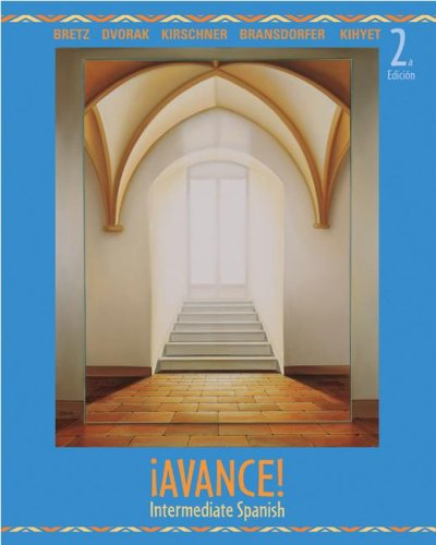 �Avance!  2nd 2008 (Student Manual, Study Guide, etc.) edition cover