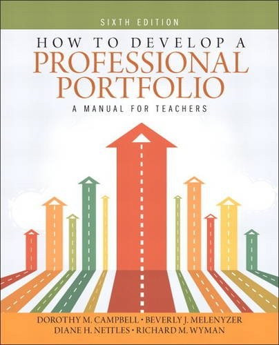 How to Develop a Professional Portfolio A Manual for Teachers 6th 2014 edition cover