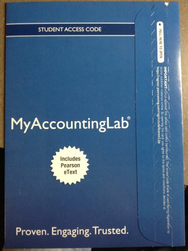 NEW MyAccountingLab with Pearson EText -- Standalone Access Card -- for Auditing and Assurance Services  15th 2014 edition cover