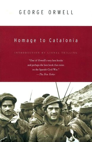 Homage to Catalonia  1st 1969 (Reprint) edition cover