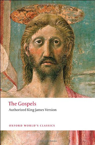 Gospels Authorized King James Version  2011 edition cover