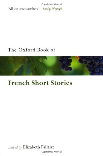 Oxford Book of French Short Stories   2010 edition cover