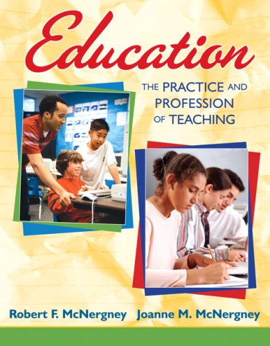 Education The Practice and Profession of Teaching 5th 2009 edition cover