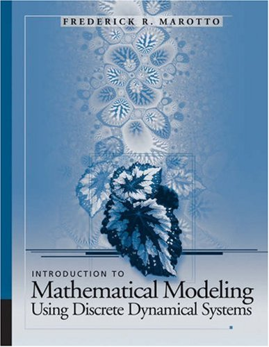 Introduction to Mathematical Modeling Using Discrete Dynamical Systems   2006 edition cover