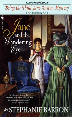 Jane and the Wandering Eye  Large Type 9780553578171 Front Cover