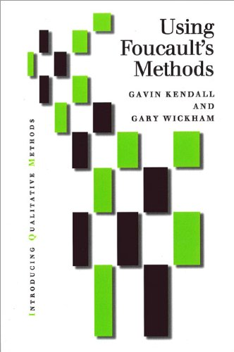 Using Foucault's Methods   1999 9780761957171 Front Cover
