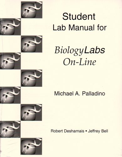 Biology Labs On-Line   2001 (Student Manual, Study Guide, etc.) edition cover
