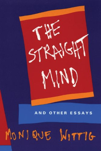 Straight Mind And Other Essays  1992 edition cover