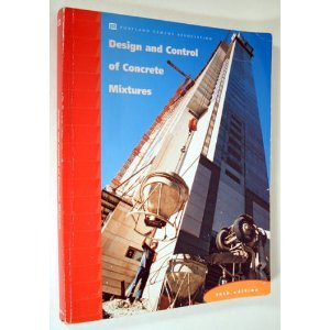 Design and Control of Concrete Mixtures 4th 2002 (Revised) edition cover