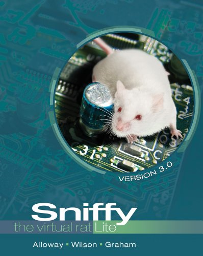 Sniffy the Virtual Rat Lite, Version 3. 0 (with CD-ROM)  3rd 2012 edition cover