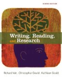 Writing, Reading, and Research  9th 2014 edition cover